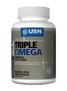 Жирные кислоты - USN EFA Triple Omega 160 caps - USN