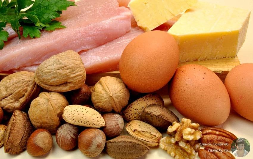 недостаток белка и последствия переизбыток белка