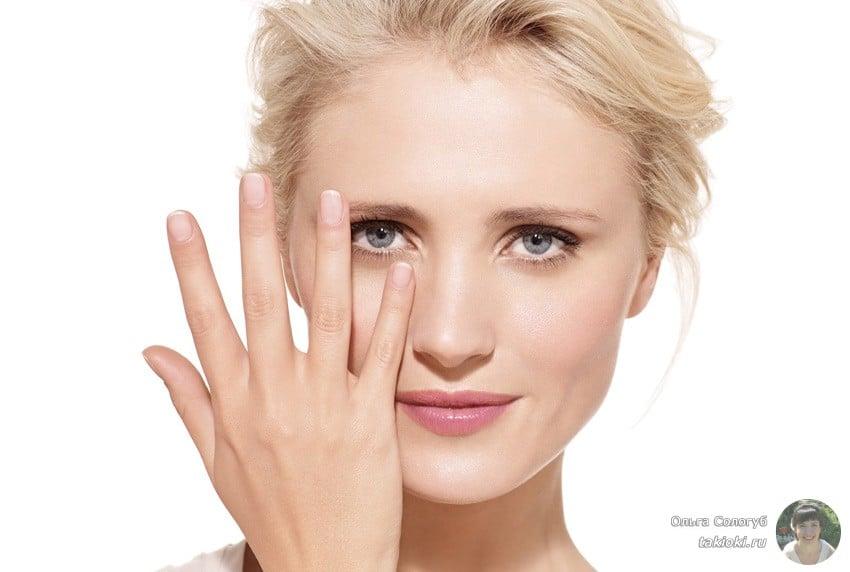 убрать синяки быстро с помощью макияжа