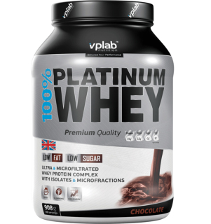 Сывороточный протеин VP Laboratory VP 100% Platinum Whey (908гр)