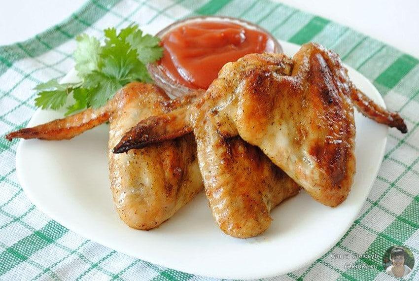 1 как вкусно приготовить куриные крылья с корочкой