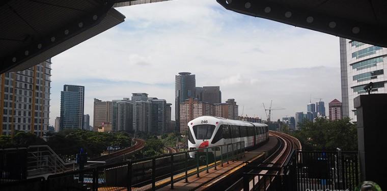 Удивительное метро Куала-Лумпура и виды из окна машиниста на город