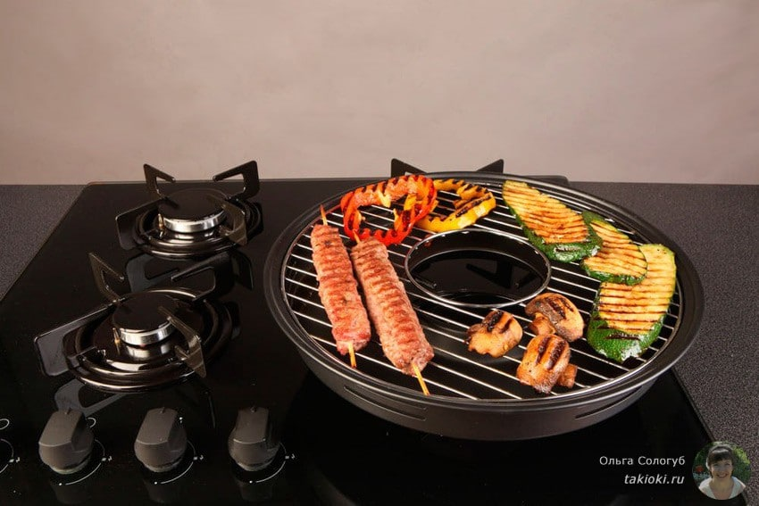 чудо сковорода для барбекю