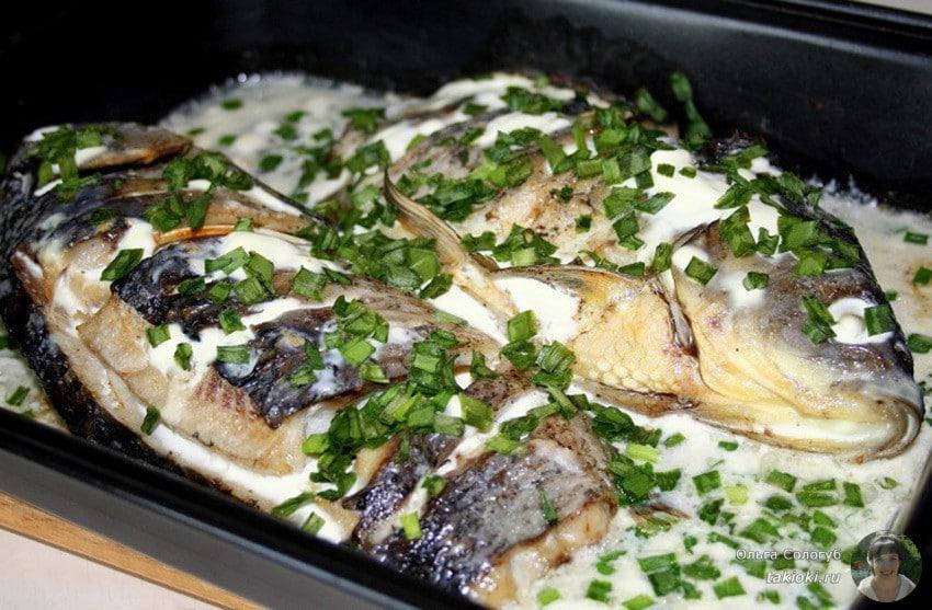 Как вкусно приготовить линя в духовке - рецепт с фото