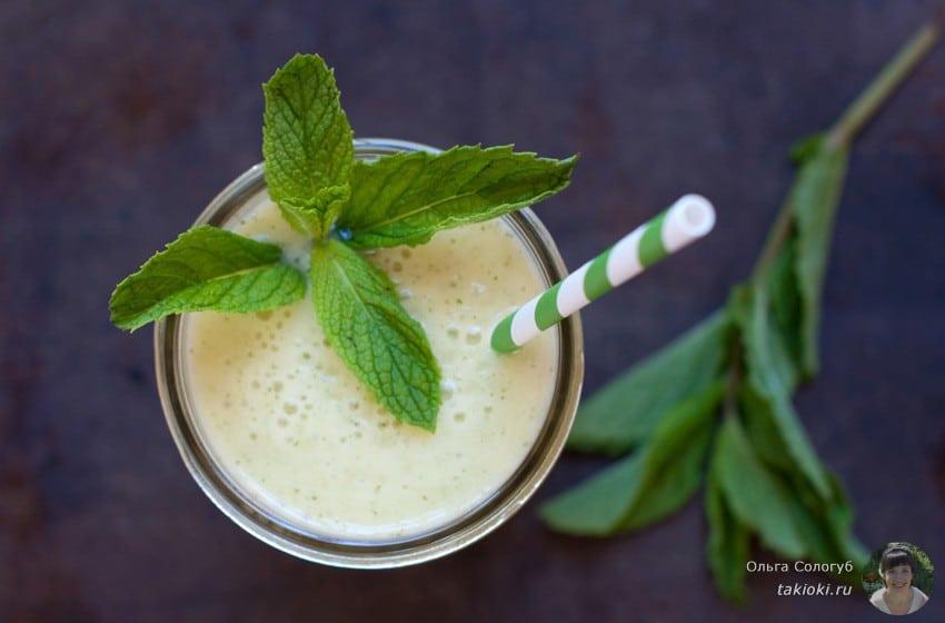 молочный коктейль с киви рецепт