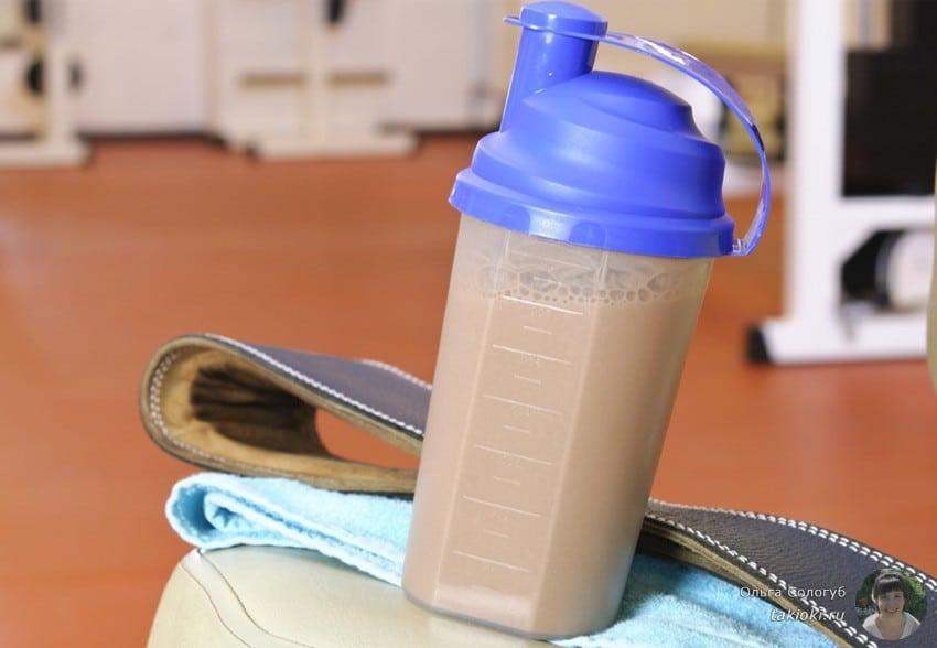 когда нужно принимать протеин для похудения до или после тренировки