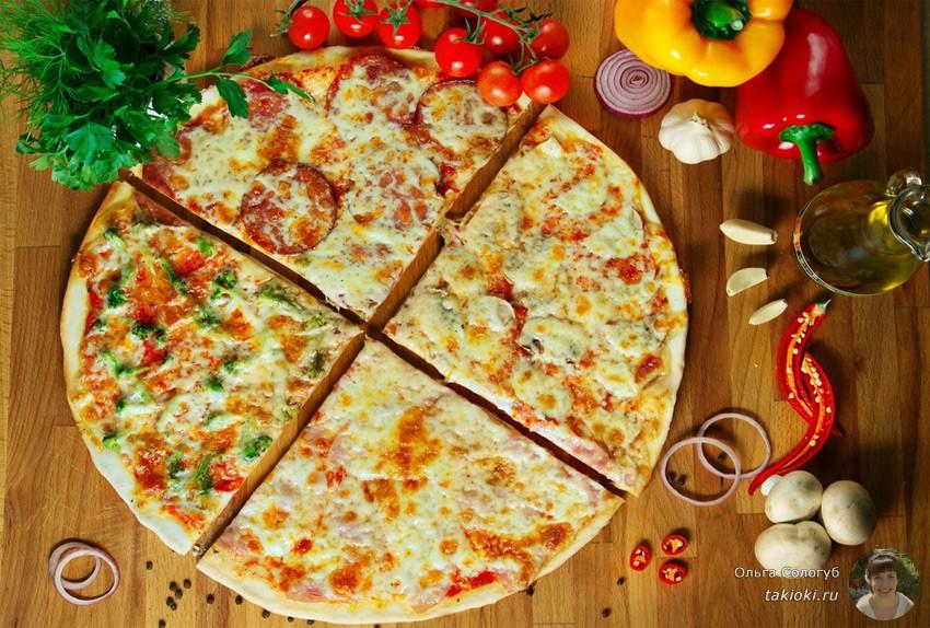 готовим быструю пиццу на сковороде из хлеба