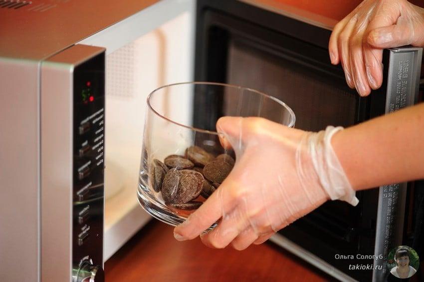 как топить шоколад для торта видео ютуб