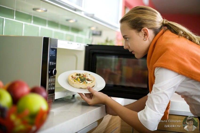 какая посуда подходит для разогрева пищи
