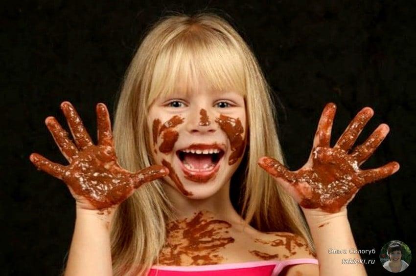 топим шоколад что бы он был жидким
