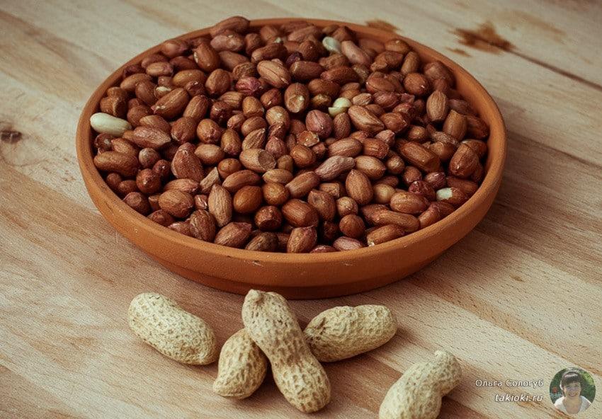 как жарить арахис в скорлупе правильно