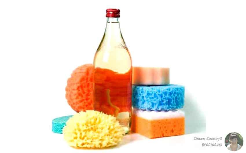 как почистить микроволновку от жира быстро уксусом