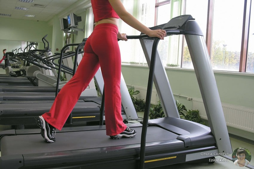 бег на тренажере для похудения программа