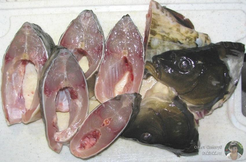 классический рецепт карпа на сковороде с луком