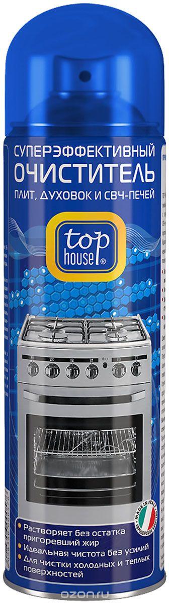 """Очиститель плит, духовок и СВЧ-печей """"Top House"""", 500 мл"""