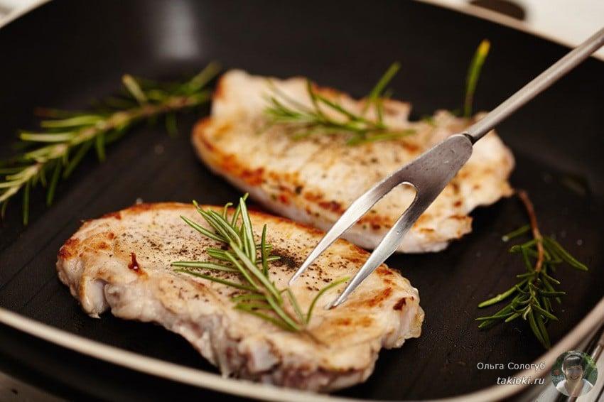 как пожарить свинину на сковороде