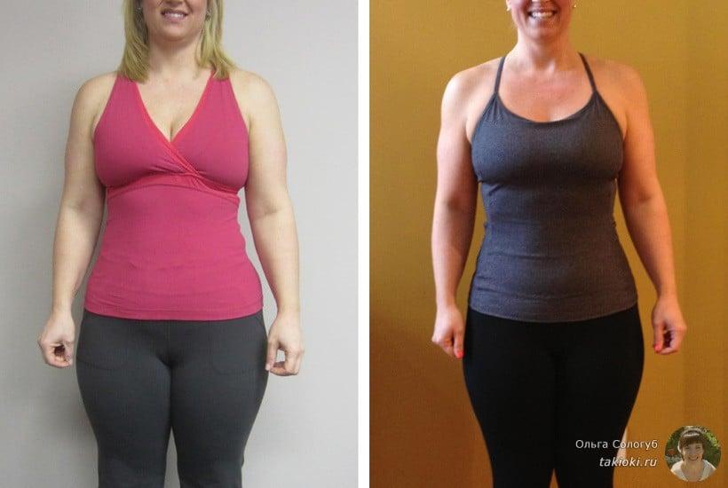 йога для похудения результаты