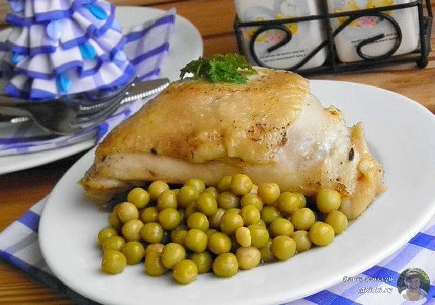 готовим бедра курицы с майонезом быстро и просто
