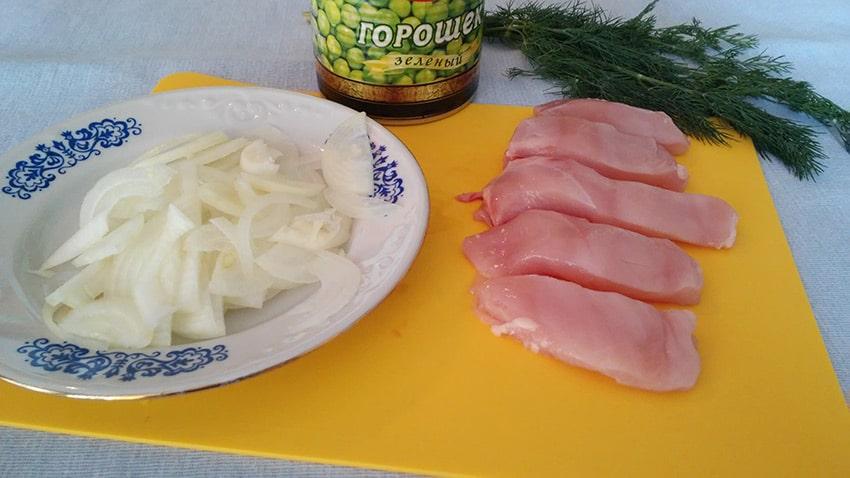 Курица на сливках на сковороде рецепт пошагово в домашних условиях