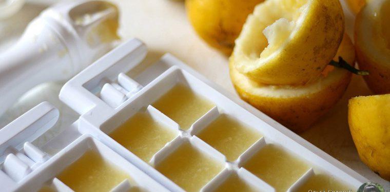 А вы знали, что кубики льда можно не только в чай положить?