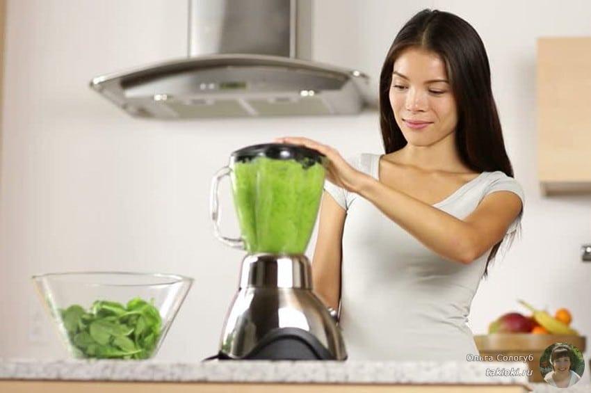 овощные коктейли в блендере рецепты