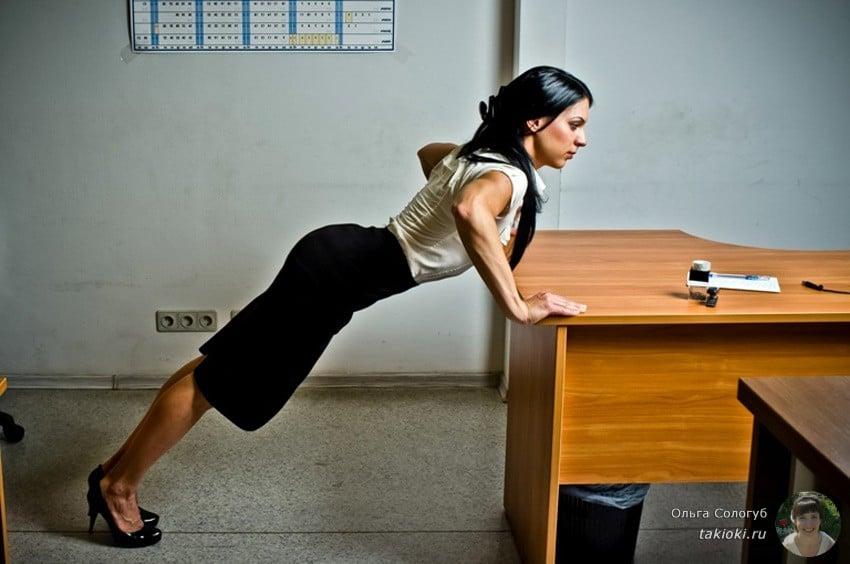 упражнения для похудения рук у девушек
