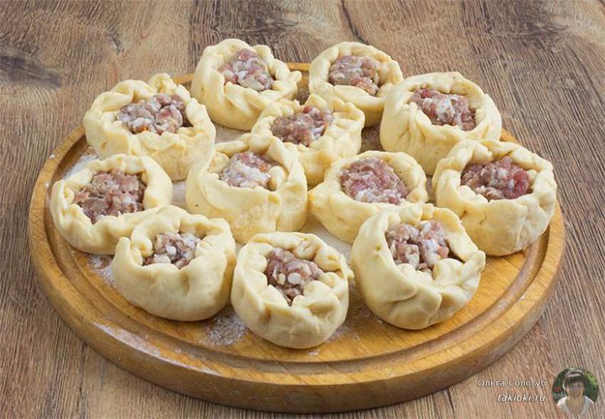 вкусные беляши с мясом на сковороде видео рецепт