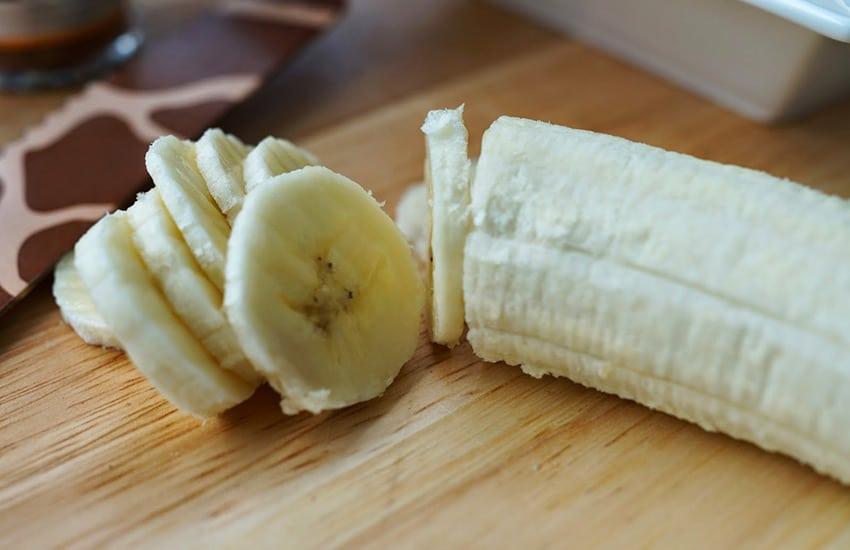 Кефир с бананом на ночь
