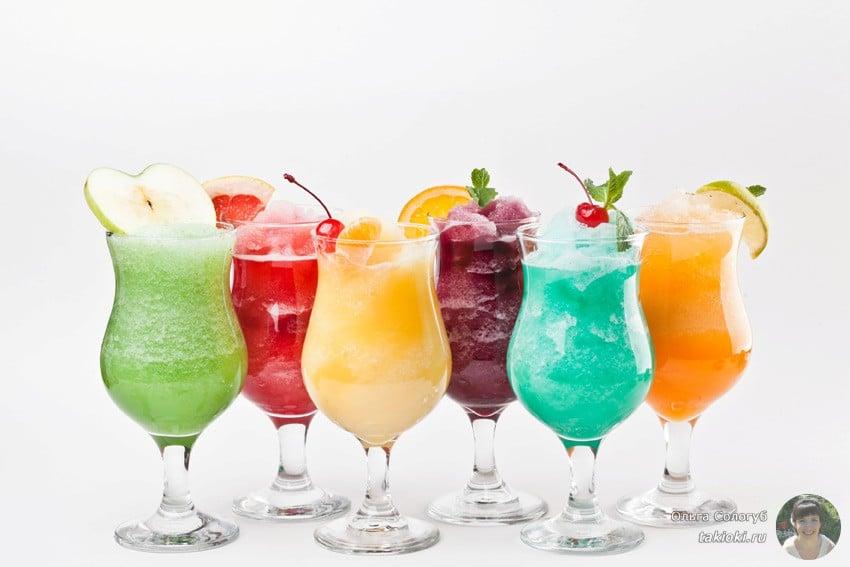 готовим фруктовые коктейли в домашних условиях