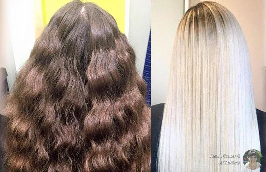 восстановление волос с olaplex