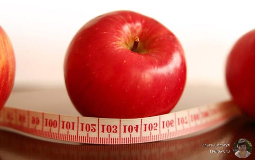 Похудение с помощью кефирно-яблочной диеты: польза и
