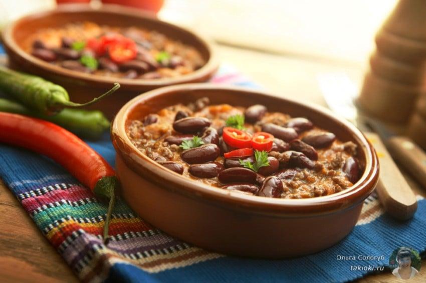 диетические блюда из фасоли рецепты