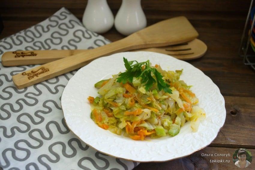 диетическое рагу из овощей рецепт