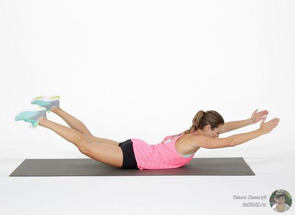 видео упражнения для ног