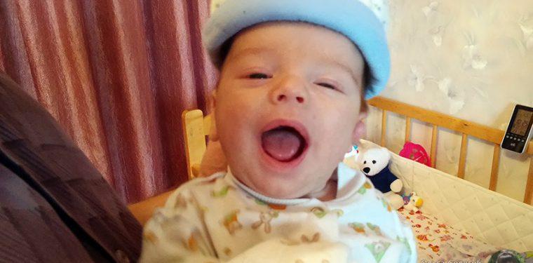 У меня родился сын – поприветствуйте Антошку :)