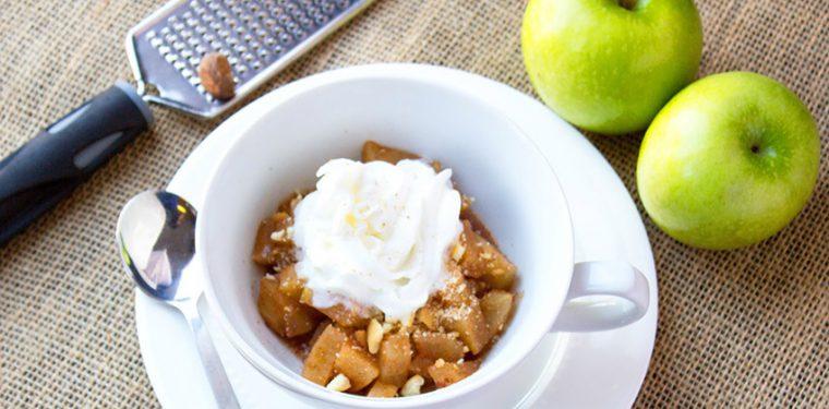 Готовим аппетитные печеные яблоки в микроволновке – рецепт с фото