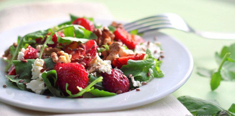 10 ингредиентов для салата, которые препятствуют старению кожи