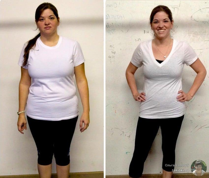 похудение на куриной грудке фото до и после
