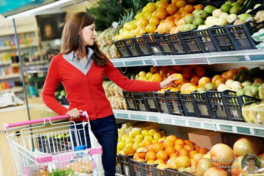диета на овощах и фруктах на 10 дней