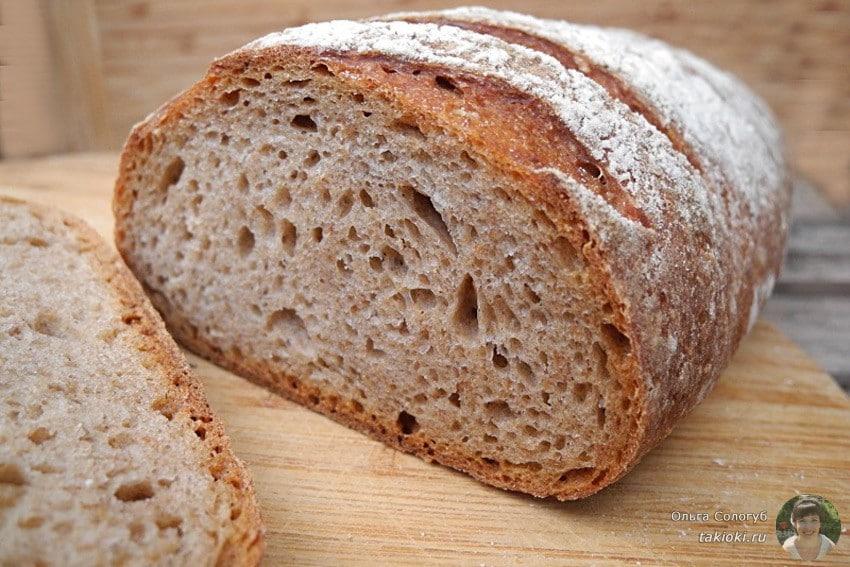 какой хлеб полезней белый или черный