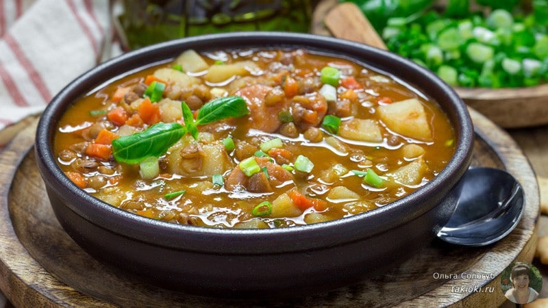 рецепт белкового супа