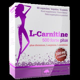 Карнитин Olimp L-carnitine 500 forte plus (60 капс)