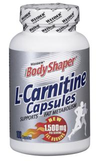 Карнитин Weider L-Carnitine Capsules 1500мг (100капс)