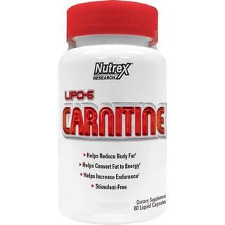 Л-карнитин Nutrex Lipo-6 Carnitine (60капс)