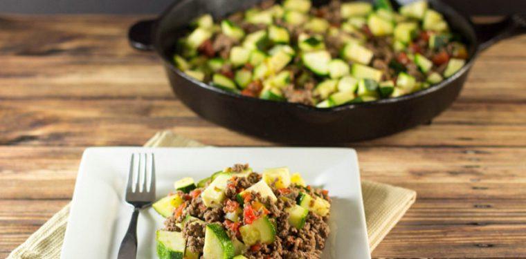 Пошаговый рецепт как приготовить быстро и вкусно кабачки на сковороде с мясом