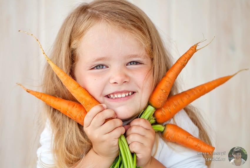 готовим морковь в пакете быстро