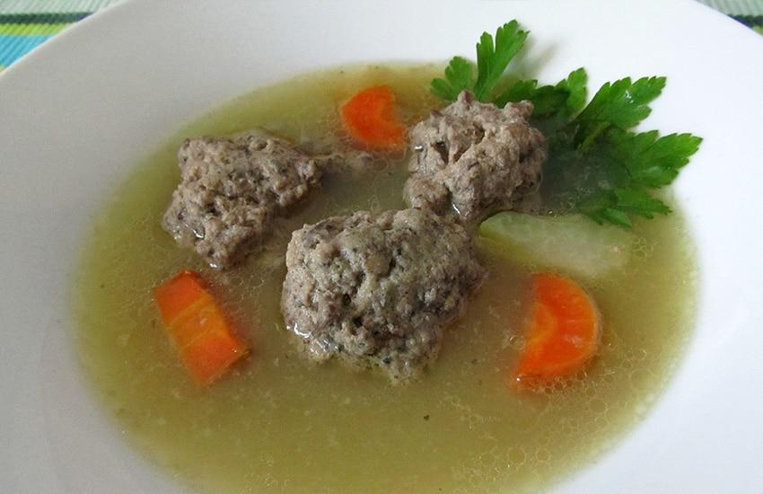 рецепт диетического супа из говядины