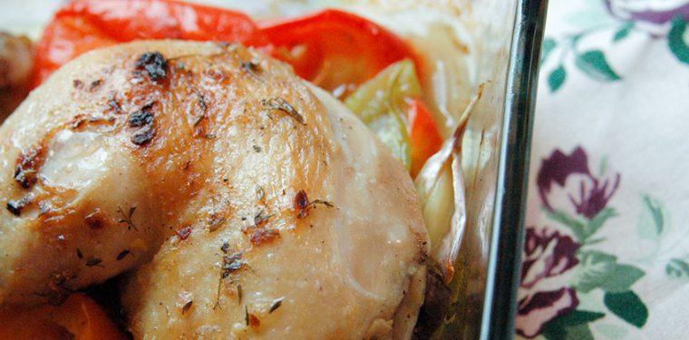 Готовим в духовке куриные ножки с овощами – пошаговый рецепт с фото