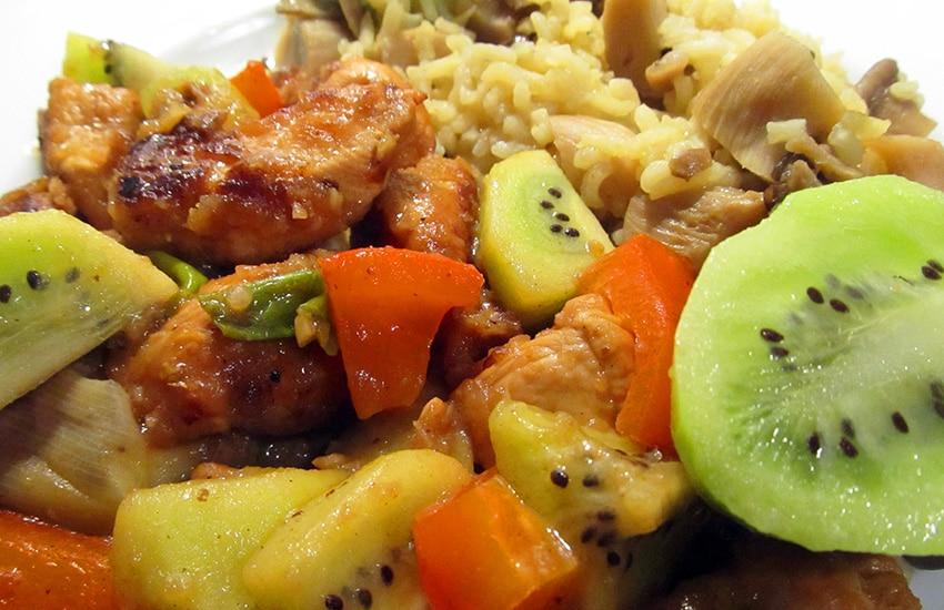рецепт филе курицы кусочками на сковороде
