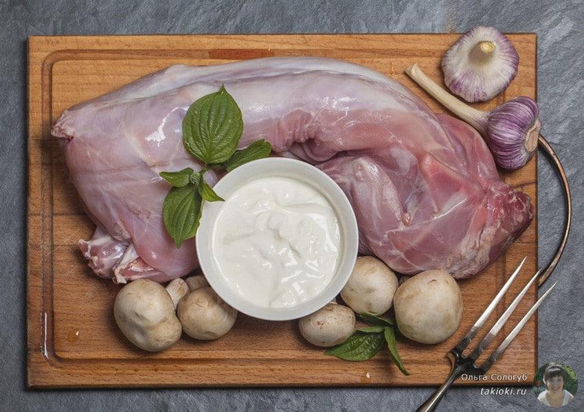Как приготовить мясо кролика в духовке